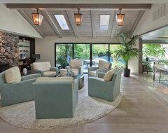 Carmichael Residence contemporary-living-room
