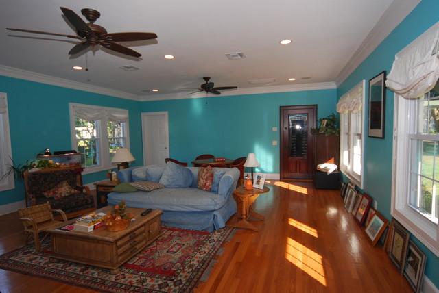 Carmicheal renovation traditional-living-room