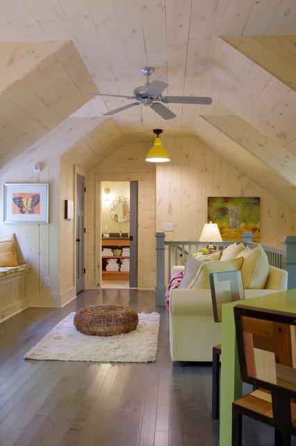 Carolina Jessamine Cottage rustic-living-room