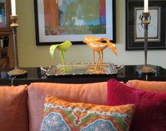 Carolyn Albert-Kincl, ASID eclectic-living-room
