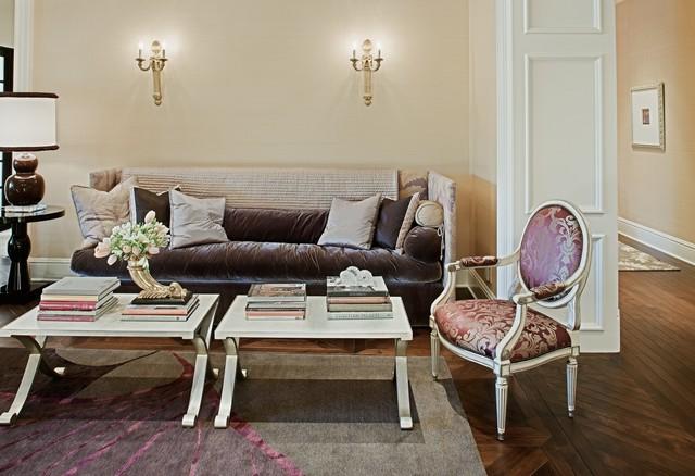 Caron Street traditional-living-room