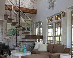 Carriage House contemporary-living-room