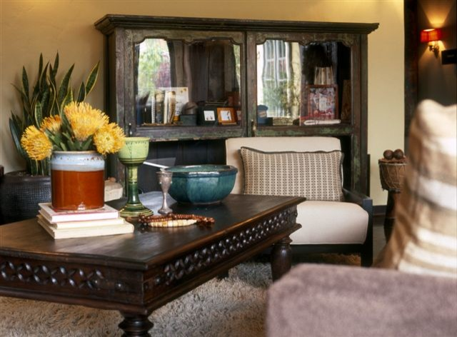 Carthay Circle Cottage eclectic-living-room