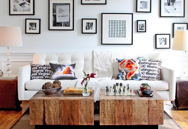 Awesome Cartoloji Map Art Pillows Contemporary Living Room Part 15
