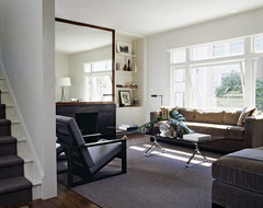 Cary Bernstein Architect Choy 2 Residence transitional-living-room