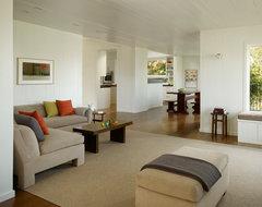 Cary Bernstein Architect Potrero House transitional-living-room