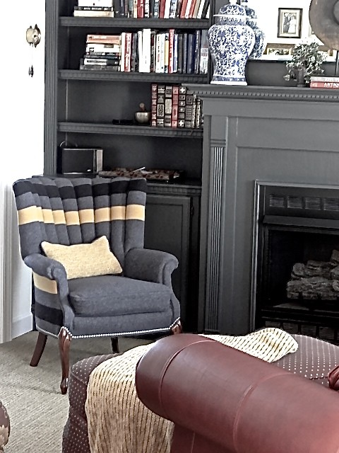 Cary Project Traditional Living Room Chicago By