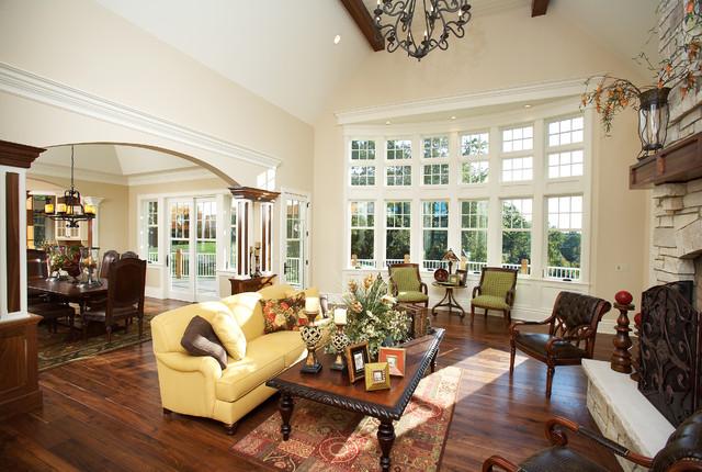 Casa Bella - living room traditional-living-room