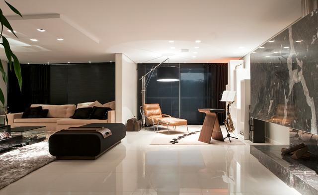 Casa Cond. Colinas de São Francisco contemporary-living-room