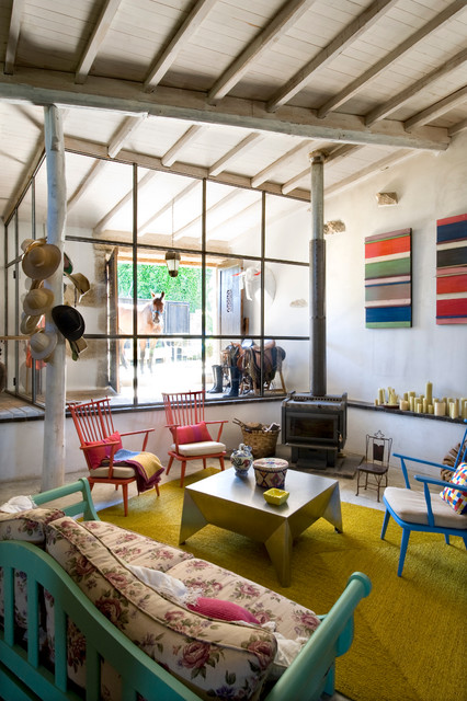 Casa de campo en Galicia casa-de-campo-salon