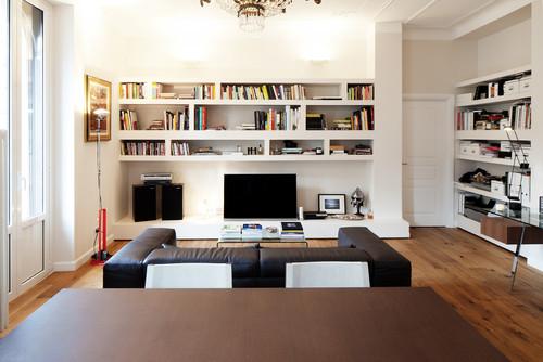 Libreria for Scrivania da parete