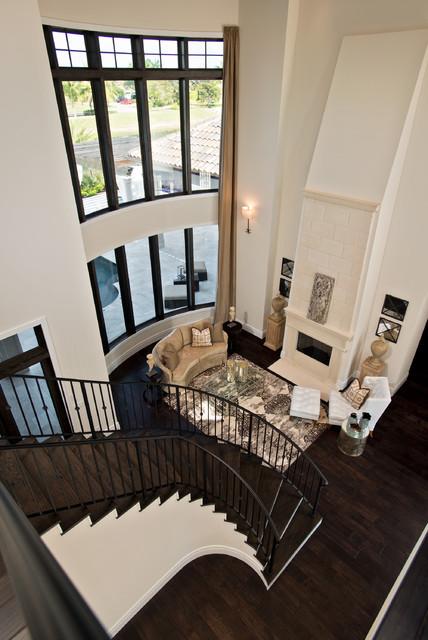Casa Ibiza mediterranean-living-room