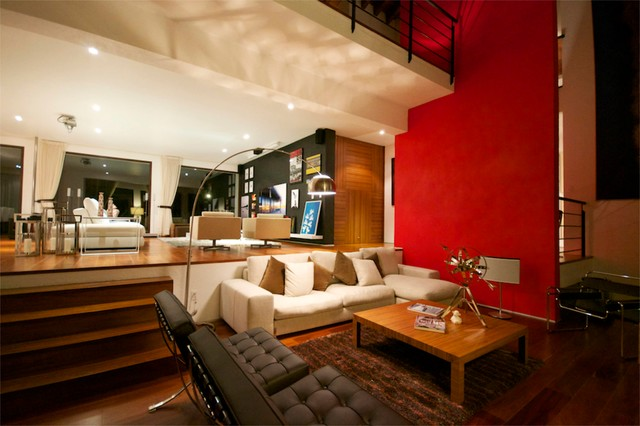 CASA M contemporary-living-room