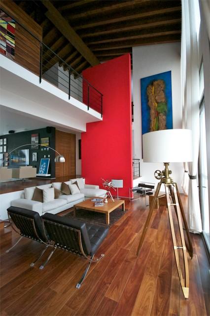 CASA M Contemporary Living Room Mexico City By