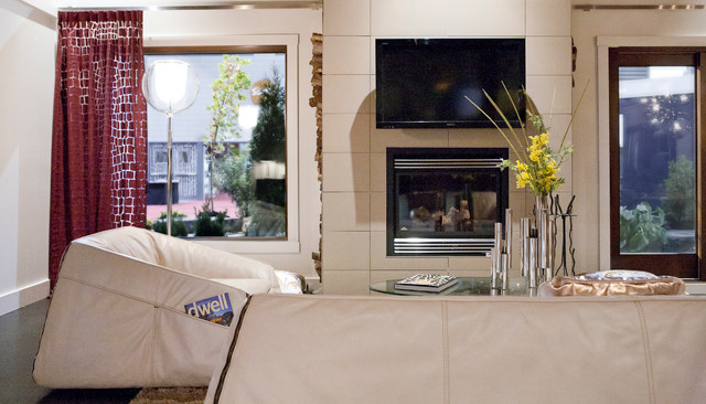 Casa Moderna contemporary-living-room