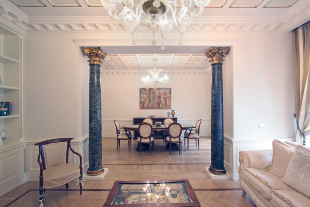 casa neoclassica in via del Corso a Roma, neoclassical house in ...