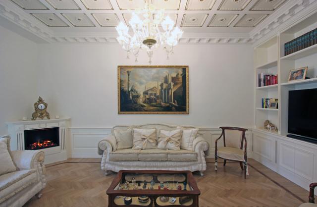 Casa neoclassica in via del corso a roma neoclassical for Corner via del corso roma