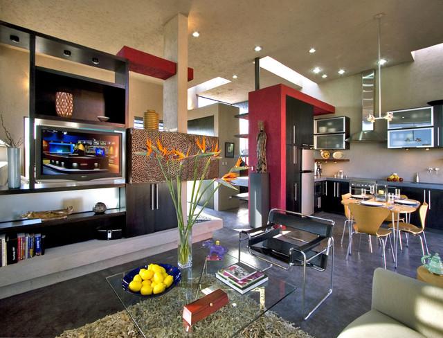 Casa Paloma modern-living-room