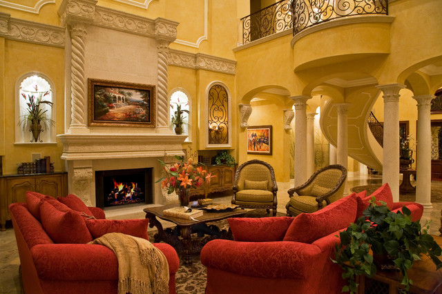 Casa paralea traditional living room other metro - Traditional red living room ideas ...