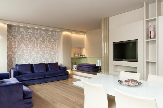 Casa privata eclettico soggiorno venezia di for Soggiorno venezia