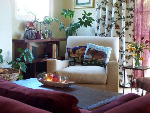 Casbah Home eclectic-living-room