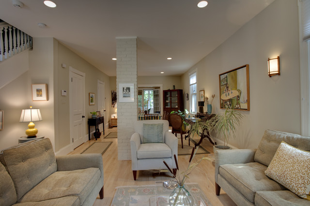 Case Design/Remodeling, Inc. contemporary-living-room