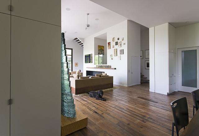 Cashiers, NC contemporary-living-room