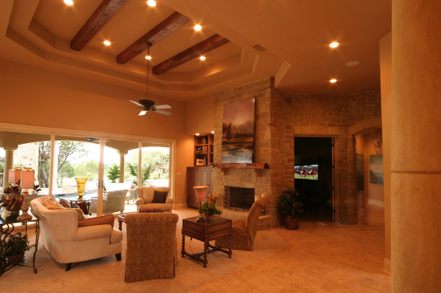 Casita by the pool eclectic-living-room