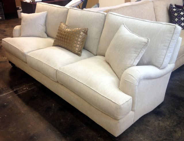 CASSIE STYLE - TRADITIONAL ENGLISH ROLL ARM - CUSTOM SECTIONAL SOFA ...