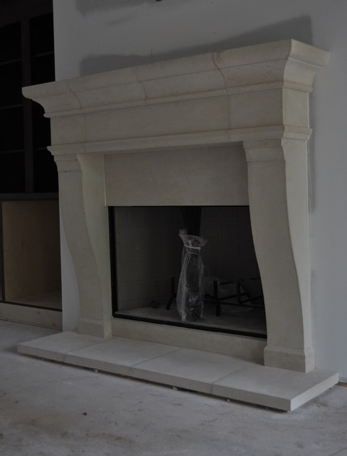 cast stone fireplace mantels traditional living room