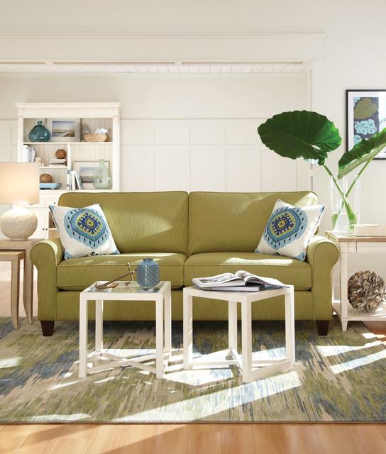 Casual Beach Style Living Room Beach Style Living