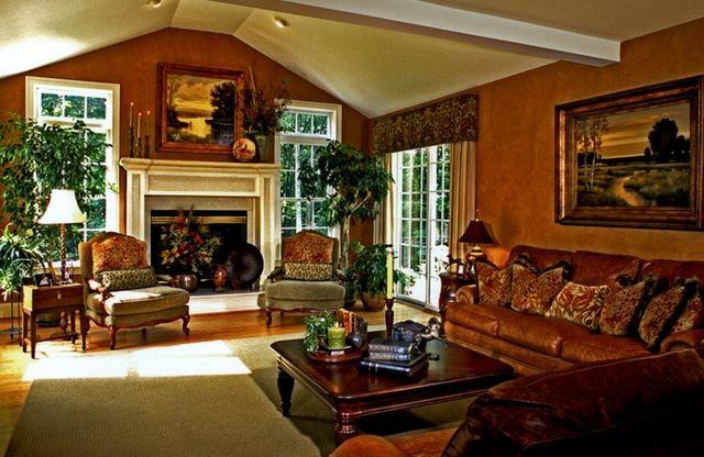 Casual Elegance mediterranean-living-room