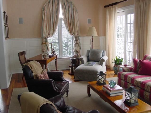 Casual Elegance contemporary-living-room