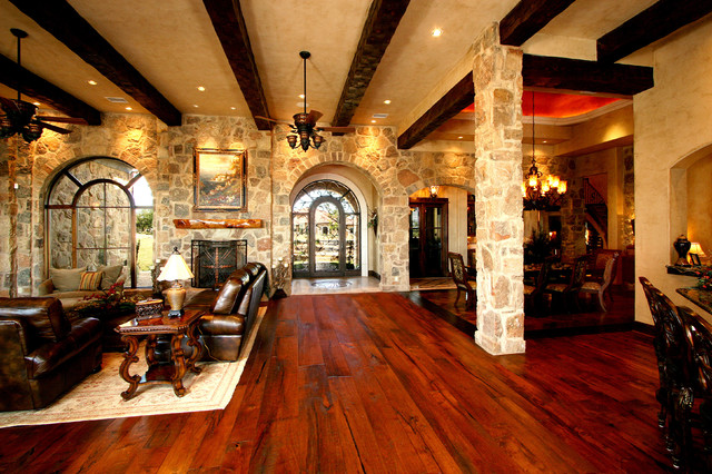 Casual Elegance In The Texas Hill Country Mediterranean Living Room Aus