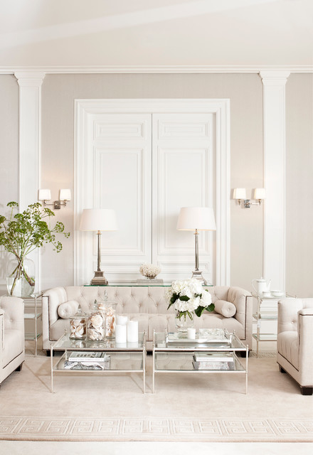 Delicieux Casual Elegance Transitional Living Room