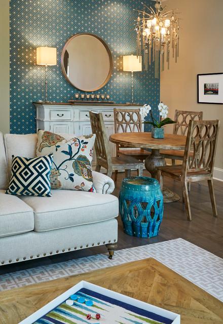 Casual elegance ponte vedra beach contemporary living for Interior decorators ponte vedra beach