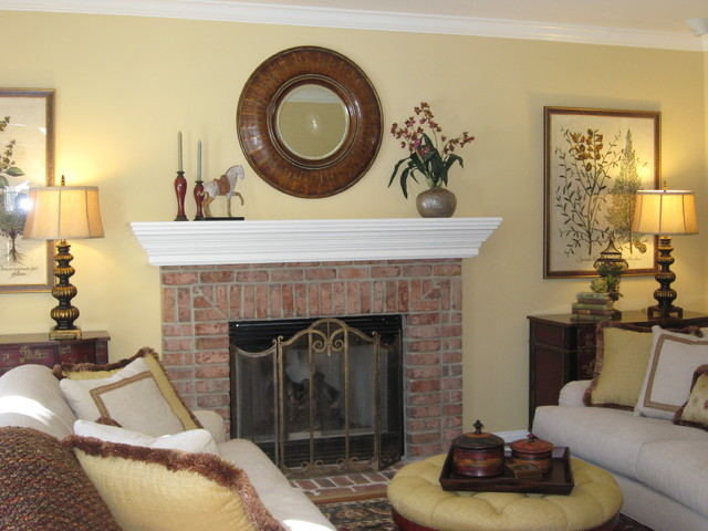 Casually elegant living room for Elegant traditional living rooms