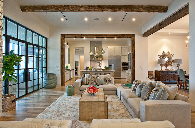 Cat Mountain Residence - Transitional - Living Room - Austin - by ...