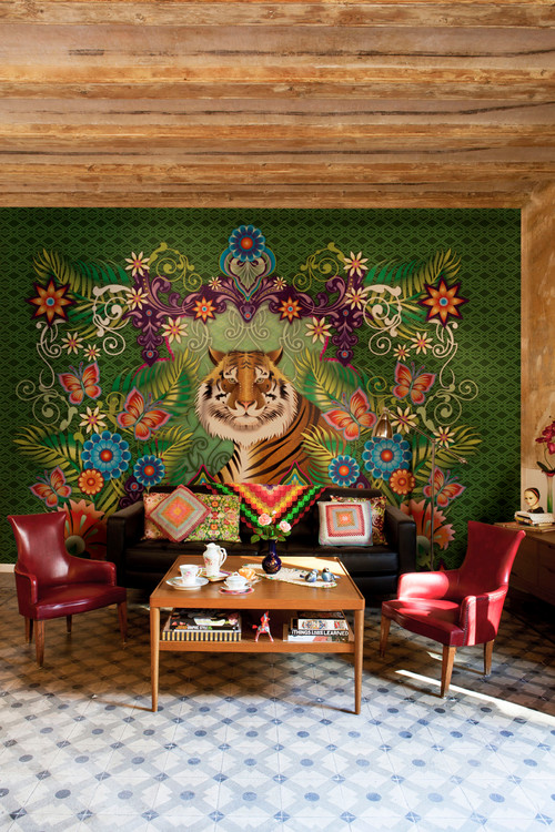 Catalina Estrada wall coverings & murals for bloompapers