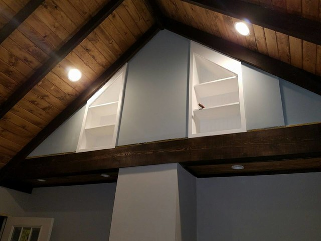 Cathedral Ceiling Kitchen and Micro-Addition Bump Out