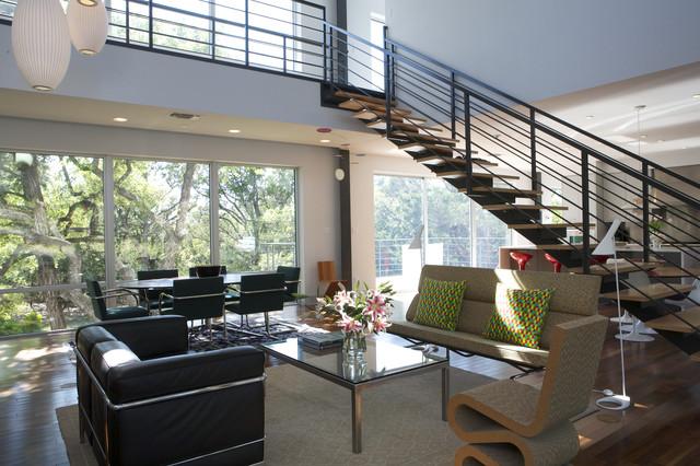 Caudill Lane modern-living-room