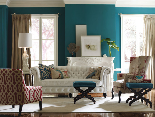 Cb Upholstered Collection Transitional Living Room New York By Coach Barn