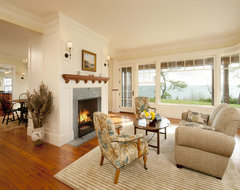 Cedar Bluff traditional living room
