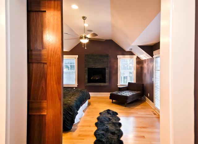 Cedar Lake Residence modern-living-room