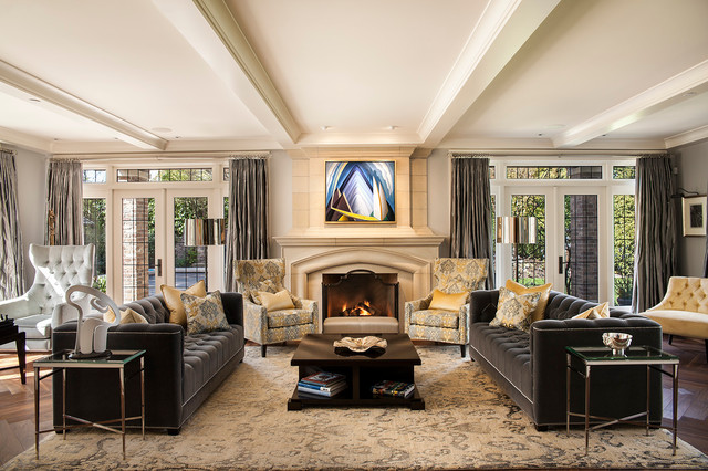 home media design installation cedia 2013 triple gold winning project historic renovation transitional living room