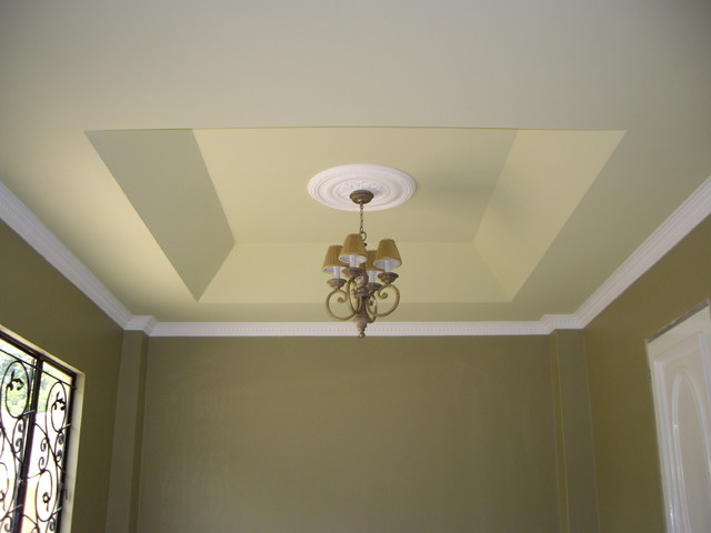 ceiling designs traditional-living-room