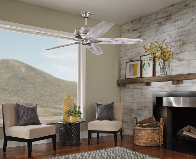 Ceiling Fans eclectic-living-room