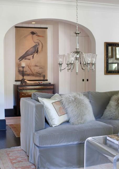 Ceiling pendants for Salon classique chic