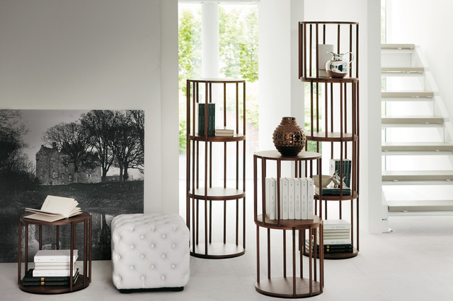 Cell Tables & Stacking Shelving Unit contemporary-living-room