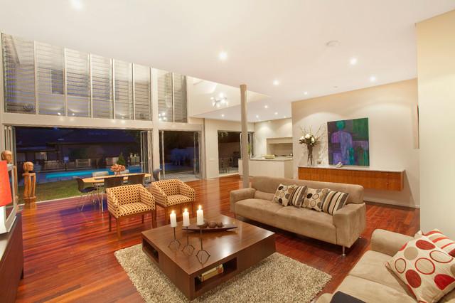 Centennial park house contemporary living room for Living room 528 powell street